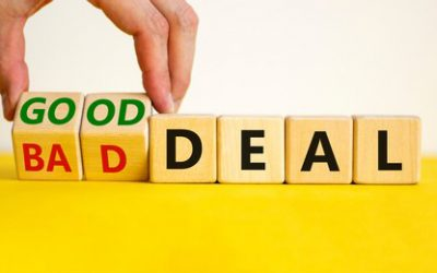 How Do You Determine a Good Deal From a Bad Deal?